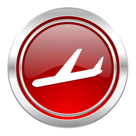 arrivals: arrivals icon, plane sign Stock Photo