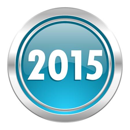 new year 2015 icon photo