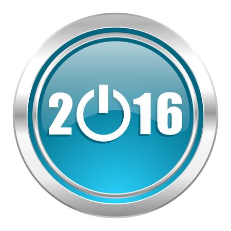 new year 2016 icon photo