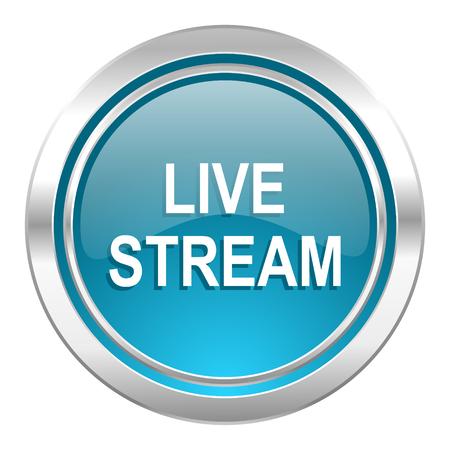 live stream: live stream icon
