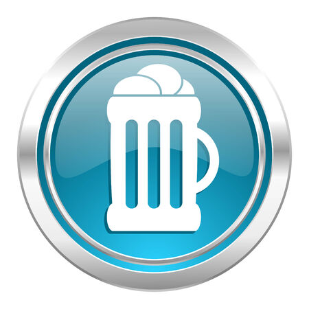 beer icon, mug sign photo
