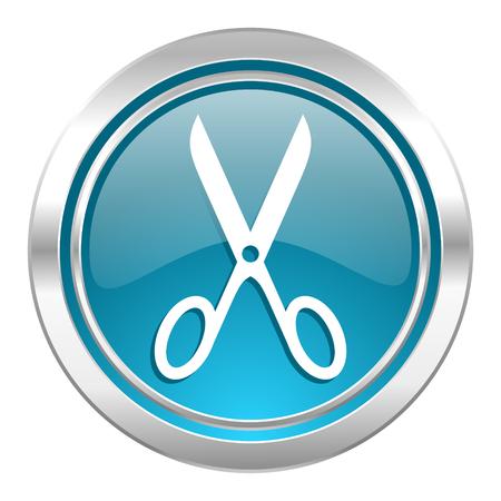 scissors icon, cut sign photo