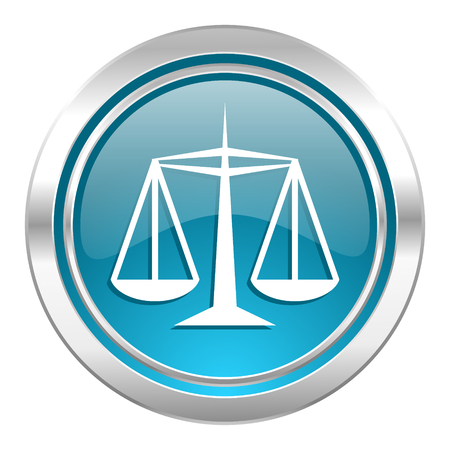 justice icon, law sign