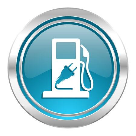 fuel icon, hybrid fuel sign photo