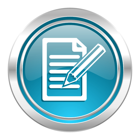 subscribe icon, write sign photo