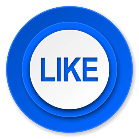 like icon: like icon Stock Photo