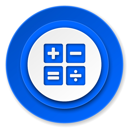 calculator icon, calc sign photo