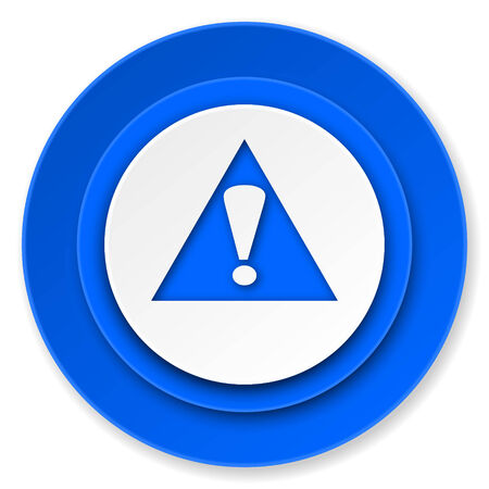 exclamation sign: exclamation sign icon, warning sign, alert symbol Stock Photo