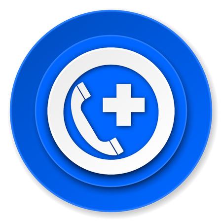 emergency call icon photo