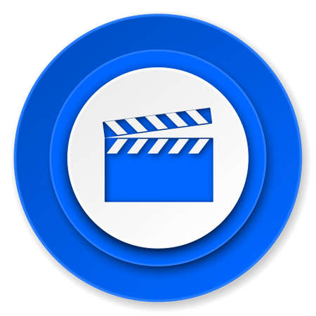 video icon, cinema sign photo