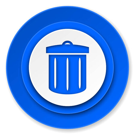 recycle icon, recycle bin sign photo