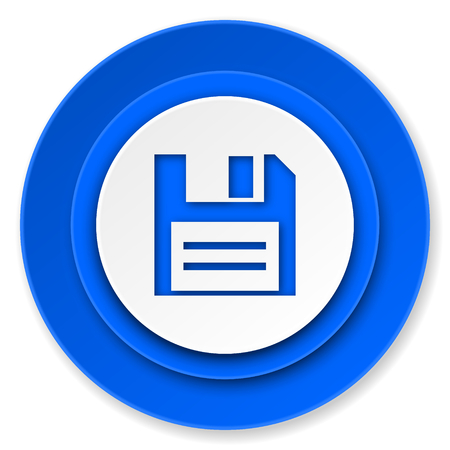 disk icon, data sign photo