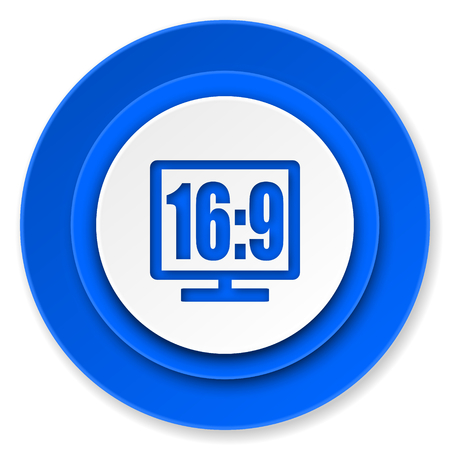 display: 16 9 display icon