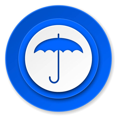 umbrella icon, protection sign photo