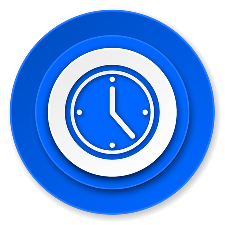 time icon, watch sign photo