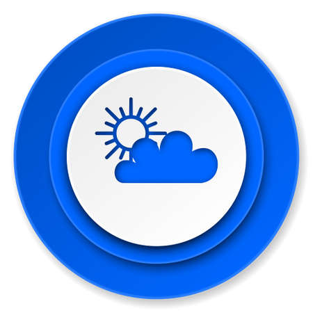 cloud icon, waether forecast sign photo