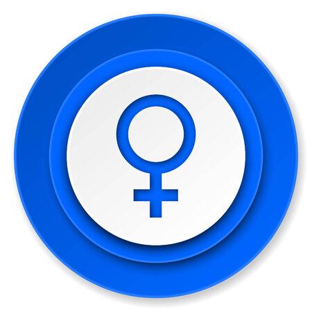 female icon, female gender sign photo