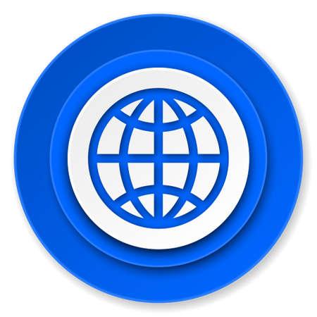 earth icon photo