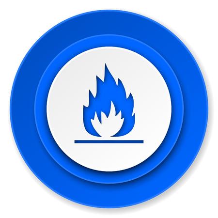 flame icon photo