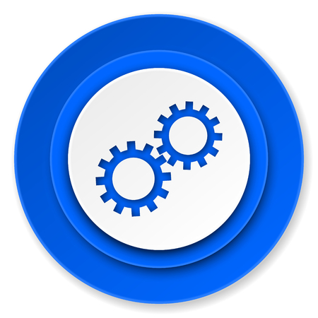gears icon, options sign photo