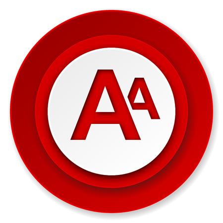 alphabet icon photo