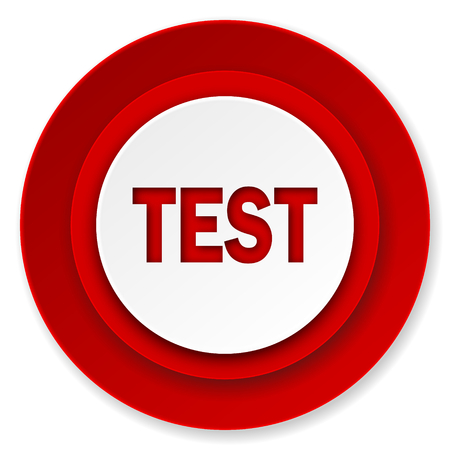 test icon photo