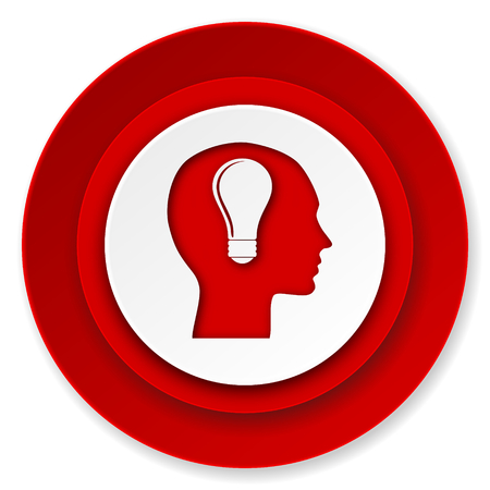 head icon, human head sign photo