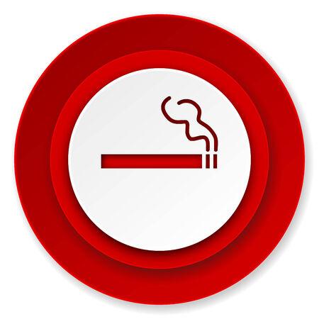 cigarette icon, nicotine sign photo