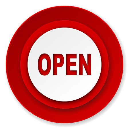 open icon Stock Photo