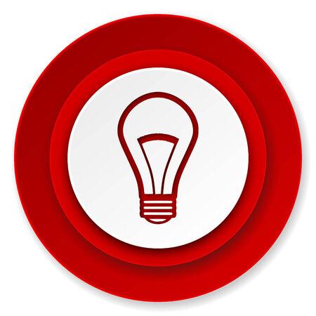 bulb icon: bulb icon, light bulb sign Stock Photo