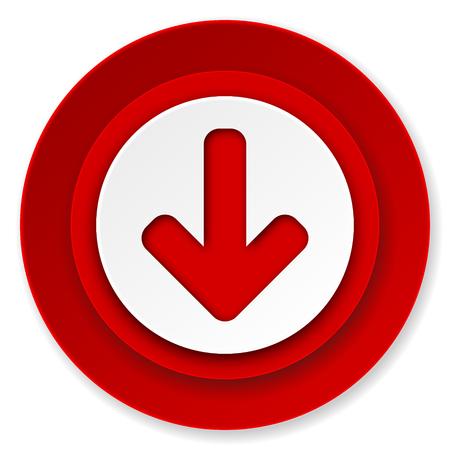 download arrow icon, arrow sign photo