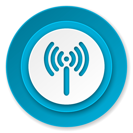 wifi icon, wireless network sign photo