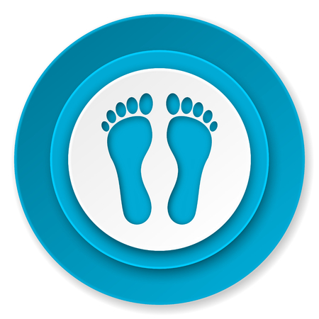 foot icon photo