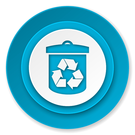 recycle icon, recycling sign photo