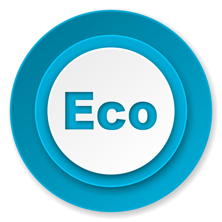 application recycle: eco icon, ecological sign Stock Photo