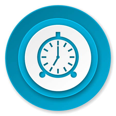 alarm icon, alarm clock sign photo