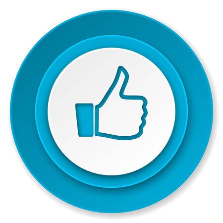 like icon, thumb up sign photo