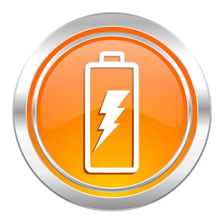 battery icon: battery icon, power sign
