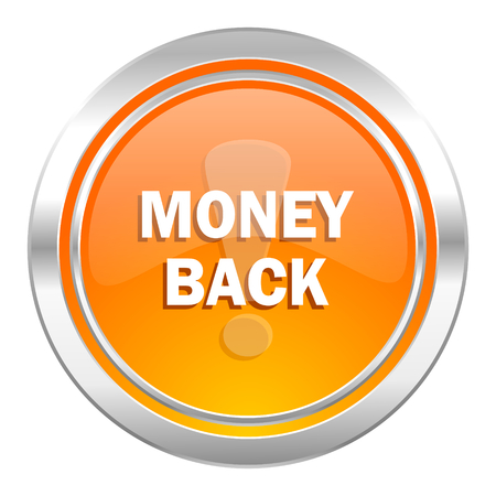 money back: money back icon Stock Photo