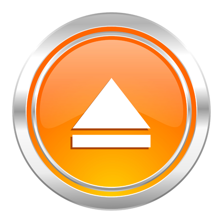 eject: eject icon, open sign Stock Photo