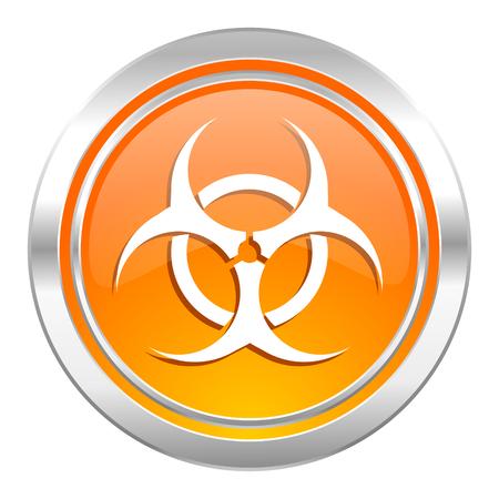 biohazard icon, virus sign photo