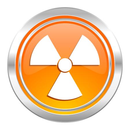 radiation icon, atom sign photo