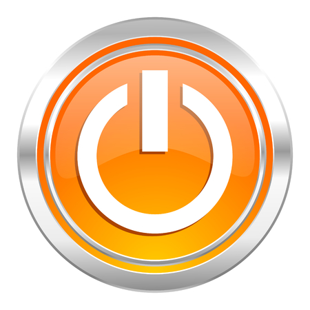 power icon, on off sign photo