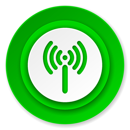 wireless network sign icon photo