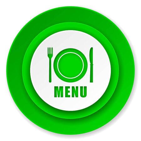menu icon: menu icon, restaurant sign Stock Photo