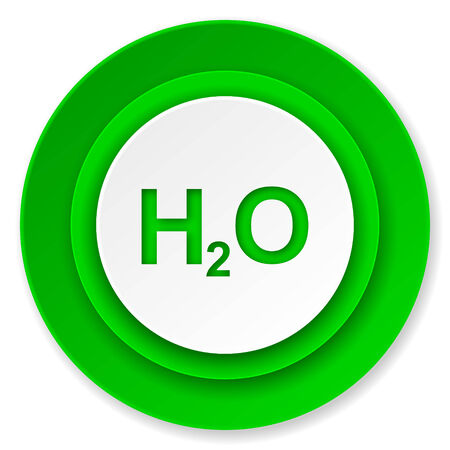 h2o: water icon, h2o sign