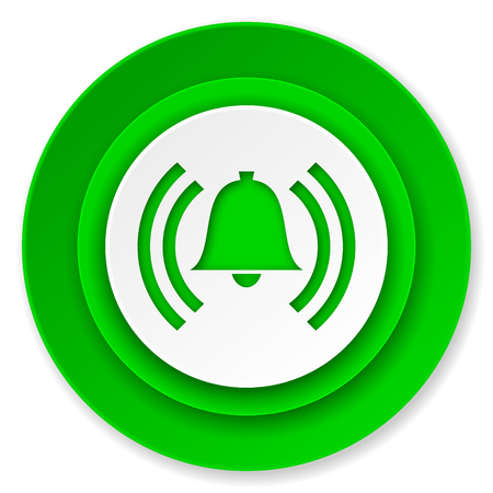 alarm icon, alert sign, bell symbol photo