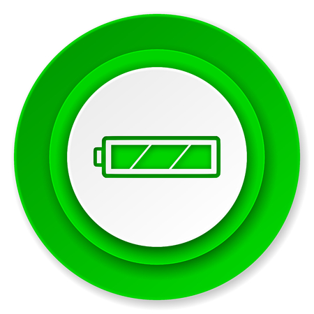battery icon, charging symbol, power sign photo