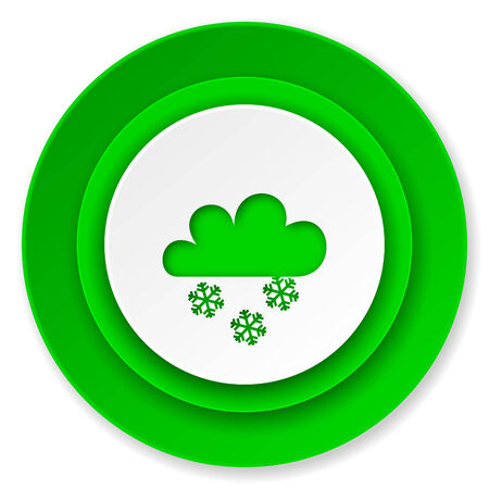 snowing: snowing icon, waether forecast sign