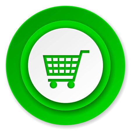 shop sign: cart icon, shop sign